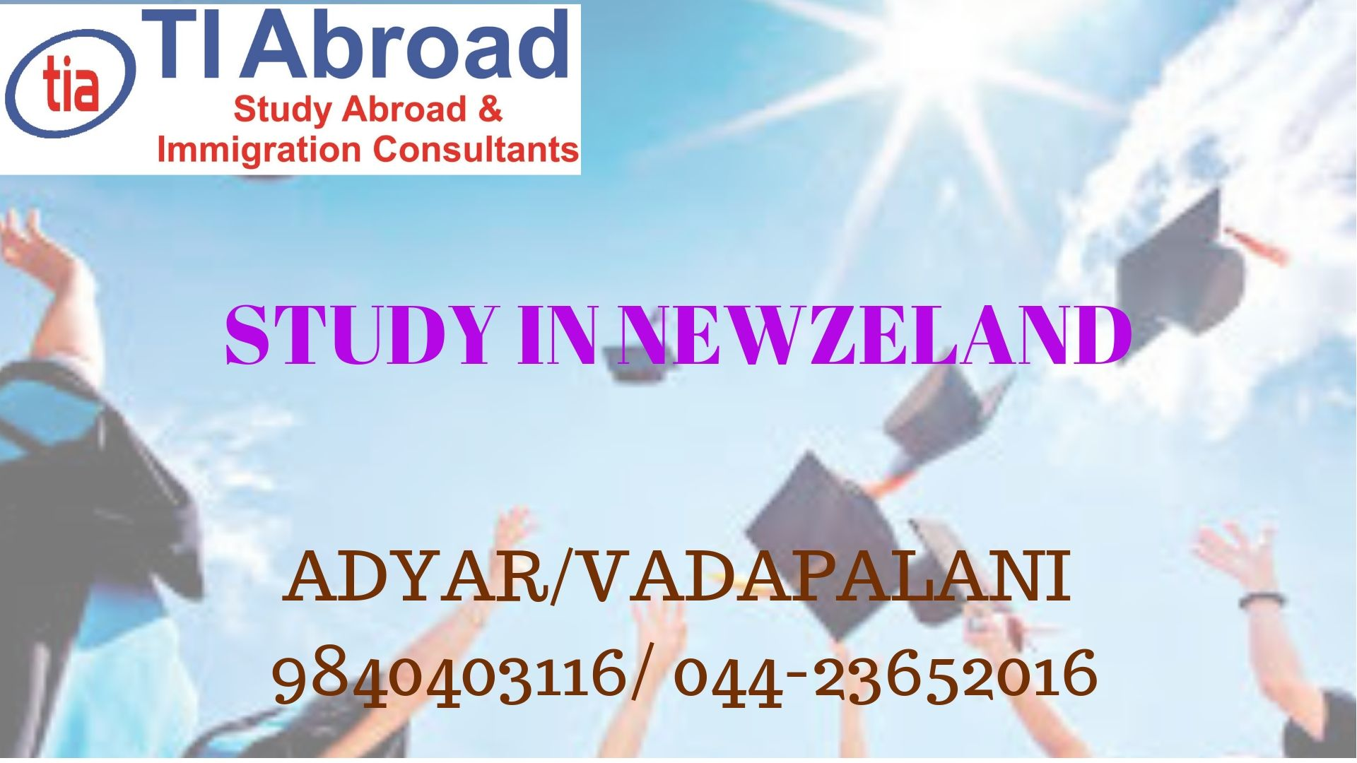 studyinnewzeland studyinabroad Ph 9840403116/044