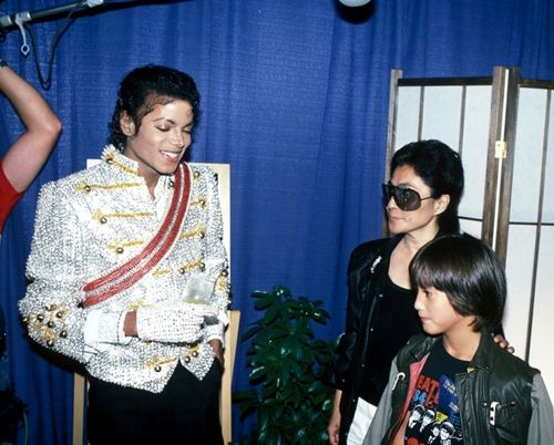 Sean Lennon And Michael Jackson