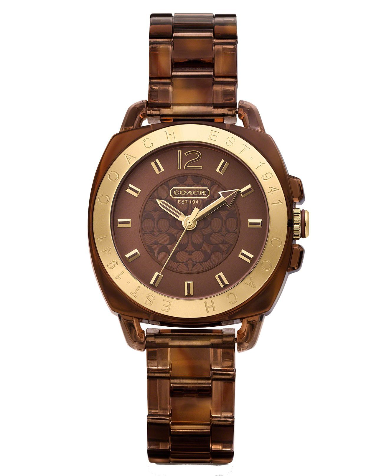 COACH BOYFRIEND BRACELET WATCH - Women's Watches - Jewelry ...
