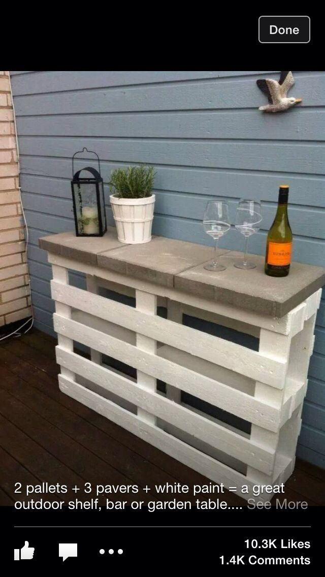 Pallet furniture | only pallet project on here I have ever been intrigued by.