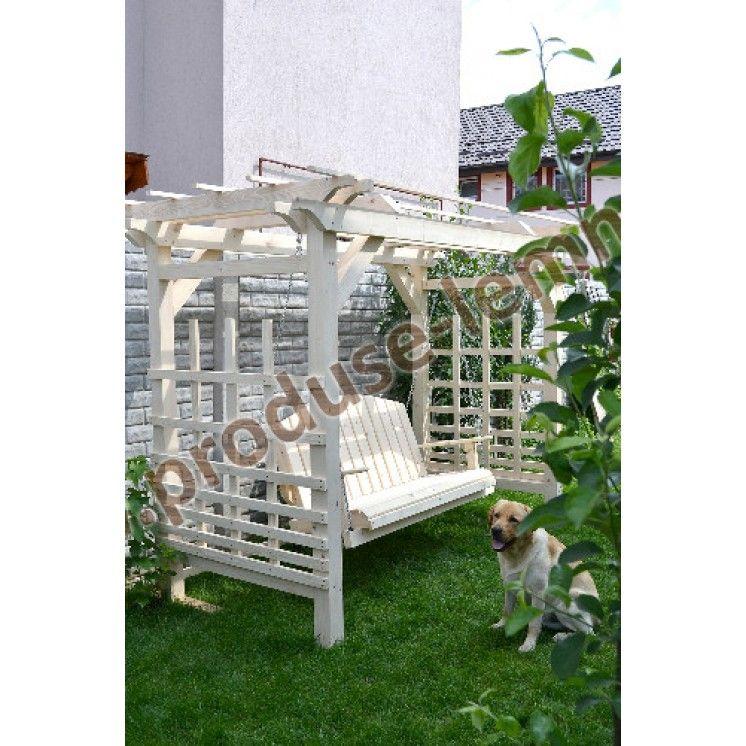 Balansoar Din Lemn Pentru Gradina Model 1 Outdoor Decor Outdoor Furniture Outdoor Structures