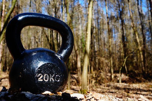 Free Image on Pixabay - Kettlebell, Exercise, Nature