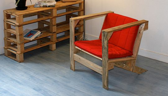 Pallet Armchair By Pierre Vedel Theres An Estimated 2 BILLION Pallets On The Planet Free