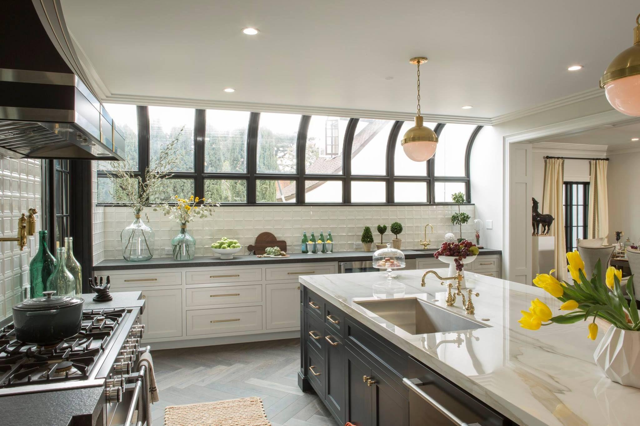 Drew S Honeymoon House Kitchen Solarium Window Property Brothers Kitchen Home Kitchens Honeymoon House