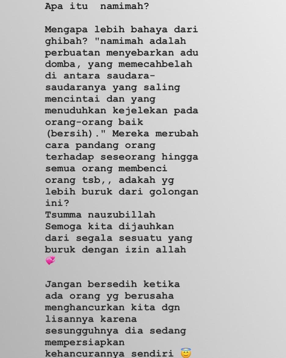 Arie Rieyanthie Di Instagram Selamat Menunggu Berbuka Puasa