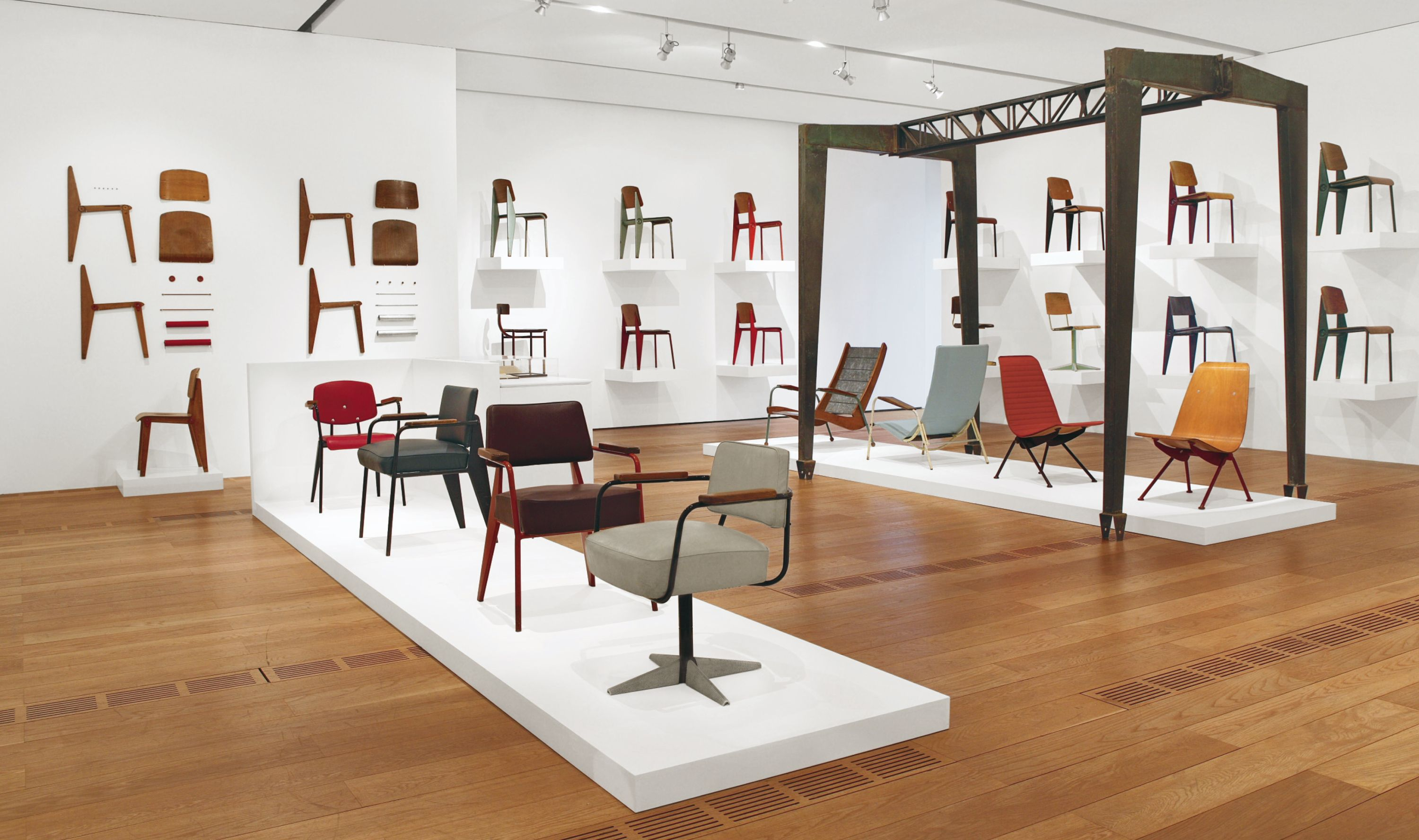 Perfect The Pinacoteca Giovanni E Marella Agnelli Presents A Passion For Jean  Prouvé, An Exhibition Devoted To The Furniture And Architecture By The  French Designer ...