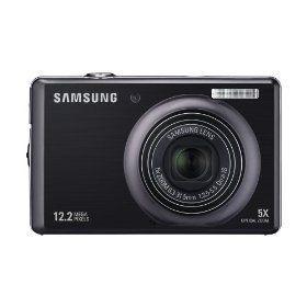 Samsung SL620 12.2 MP Digital Camera with 5x Dual Image Stabilized Zoom and 3.0 inch LCD (Black)  .$146.89. I have this camera the video quality is HORRID! also the pictures are so bright!! and if you take flash off it turns out blurry or really unsaturated! it turns your face white if you have any kind of face makeup! and shows up all imperfections the... beauty tool makes it blurry so whats the use...pleasee buy something else this suckss im selling mine