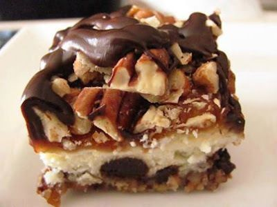 Turtle Cheesecake Bars and lots more.....
