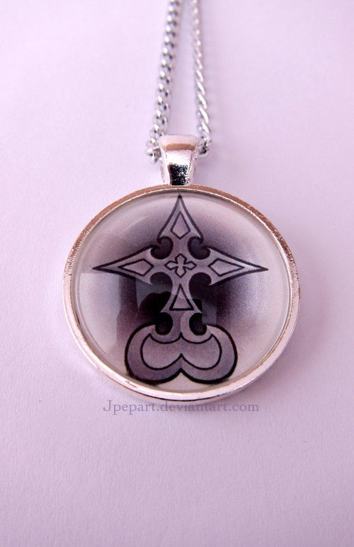 Nobody Symbol Kingdom Hearts Pendant Kingdom Hearts Pinterest