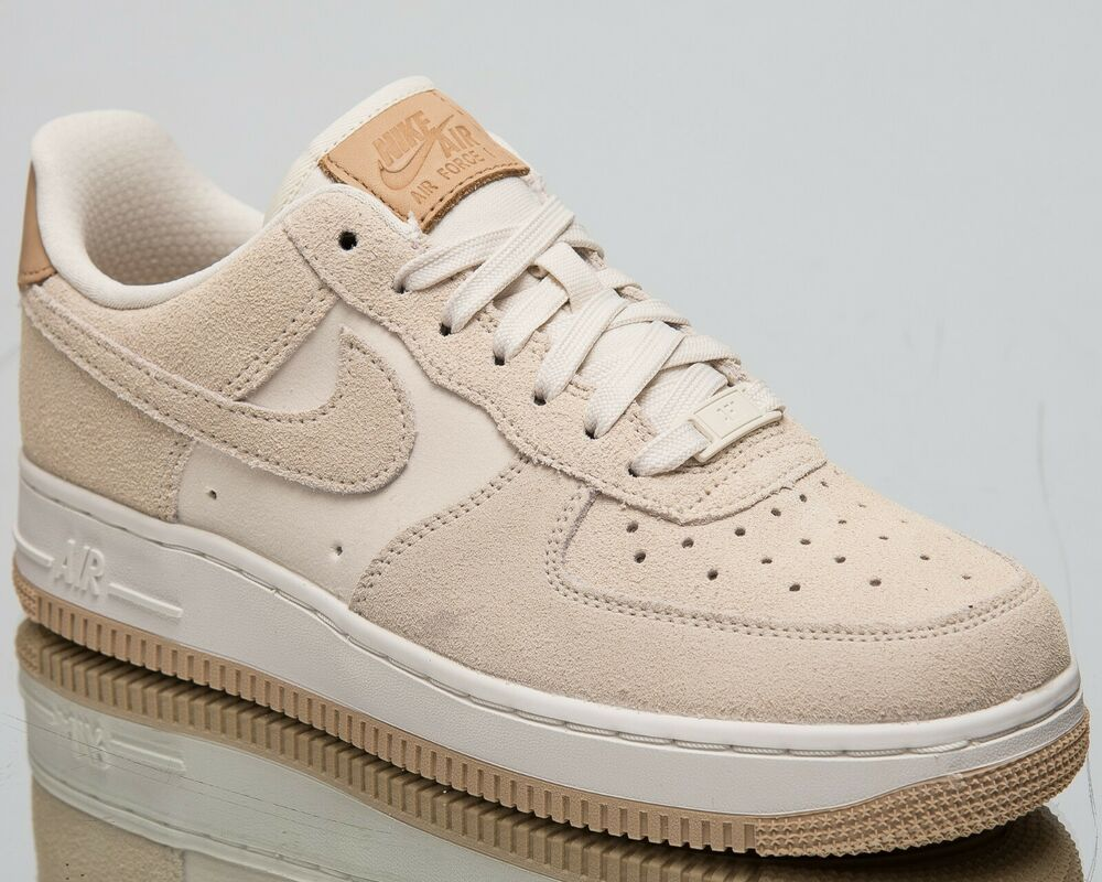 9fb7ebd7fc3cc Nike Women's Air Force 1 '07 Premium New Lifestyle Shoes Pale Ivory ...