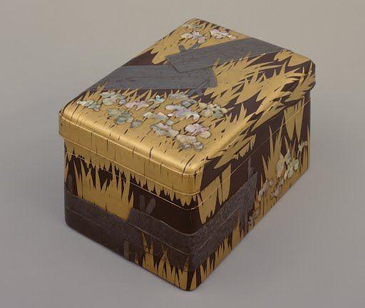 Writing box, Design of Yatsu-hashi bridge Edo period, 18th century Ogata Korin Tokyo National Museum