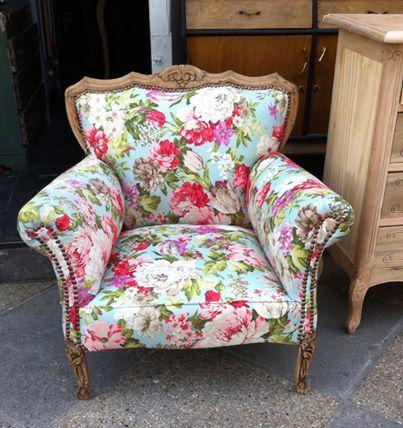 Foto hermoso sill n normando reci n restaurado muebles normando en 2019 muebles - Sillones antiguos restaurados ...