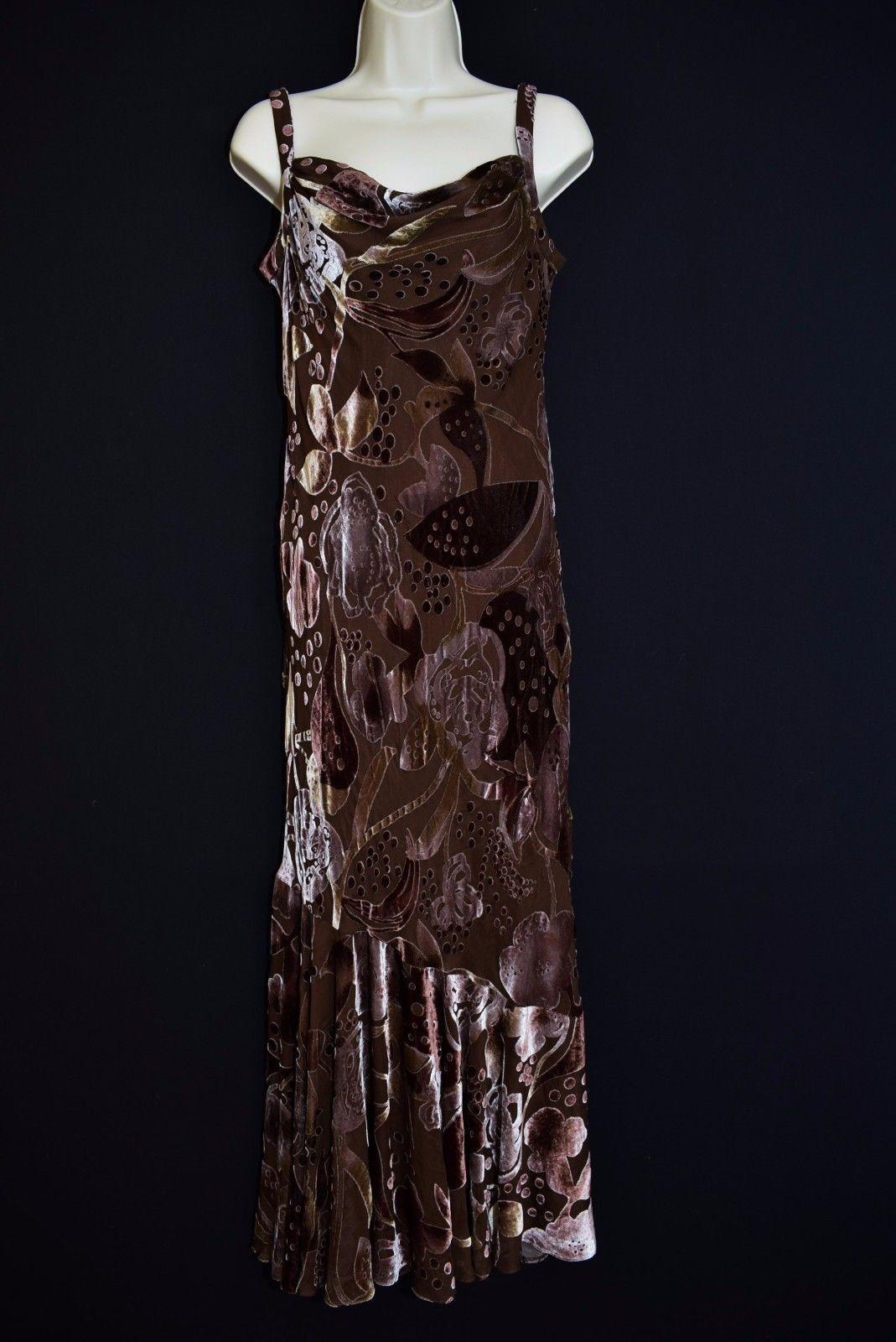 Gorgeous maxi dress bohemian pillar bias cut s style gown cruise