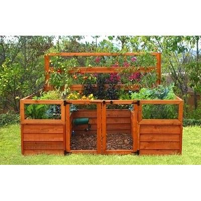 Beautiful And Practical For Those Of Us With Critters Domestic And Otherwise Garden Beds Raised Garden Raised Garden Beds