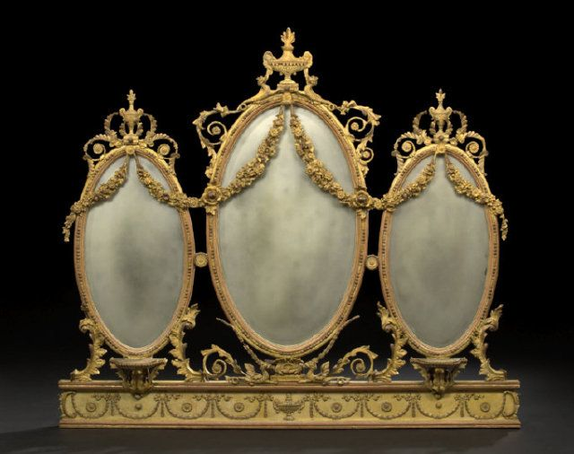 English adams style mirror ayna mirrors pinterest for Miroir in english