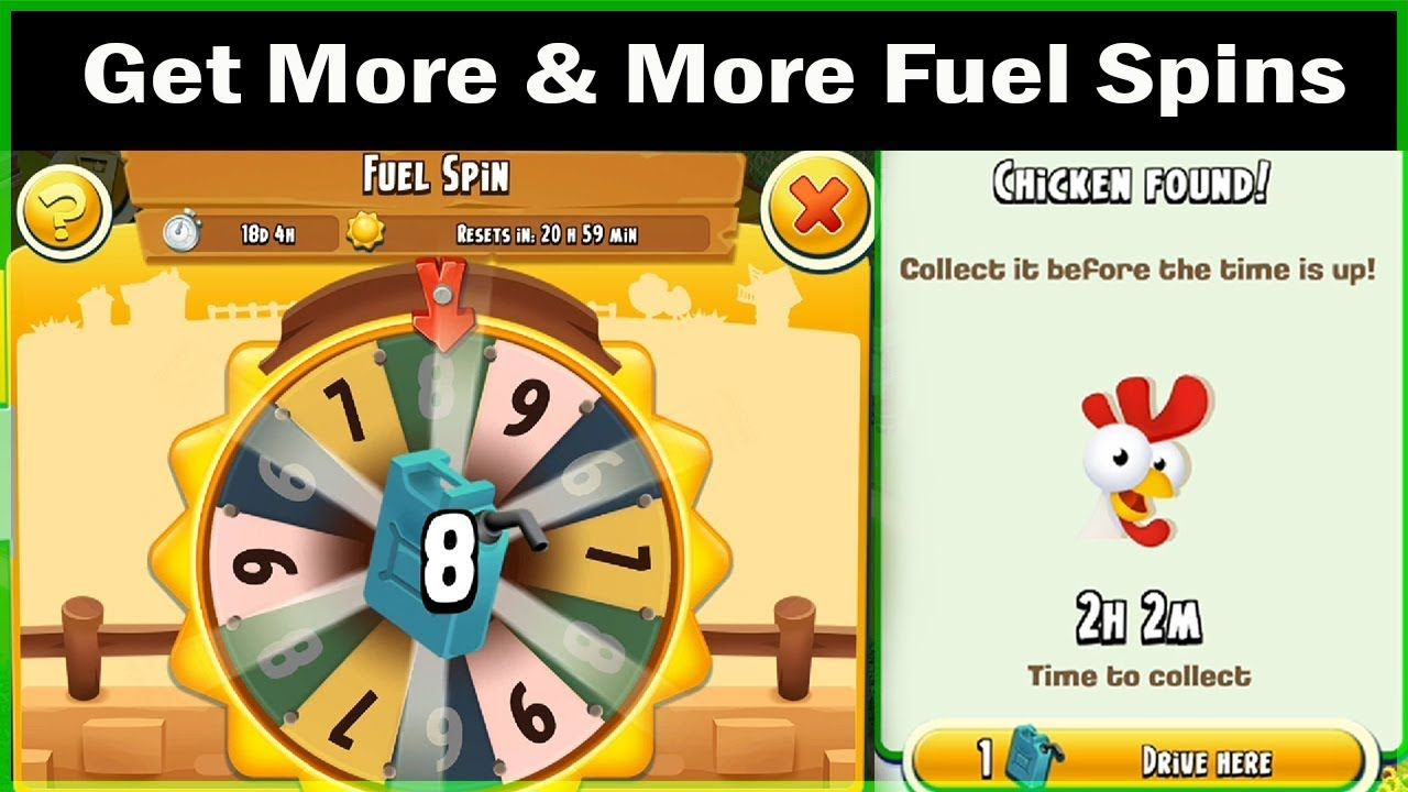 Hay Day Valley Get More And More Fuel Spins Hay Day Com Games Day