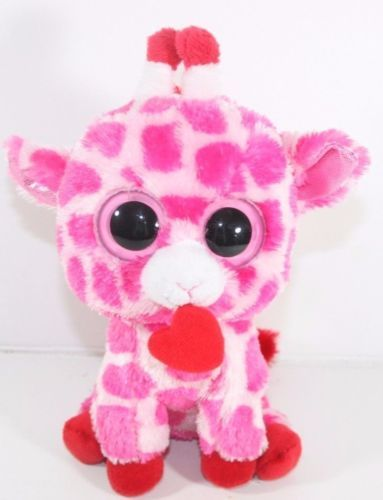 9620779cbc1 Ty-Beanie-Boo-Boos-Junglelove-the-Valentine-Giraffe-6-034 -Plush-Stuffed-Animal