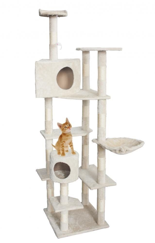 New BestPet Beige Cat Tree Condo Furniture Scratching Post Pet Cat Kitten  House    Find Out More About The Great Sponsored Product At The Image Link.