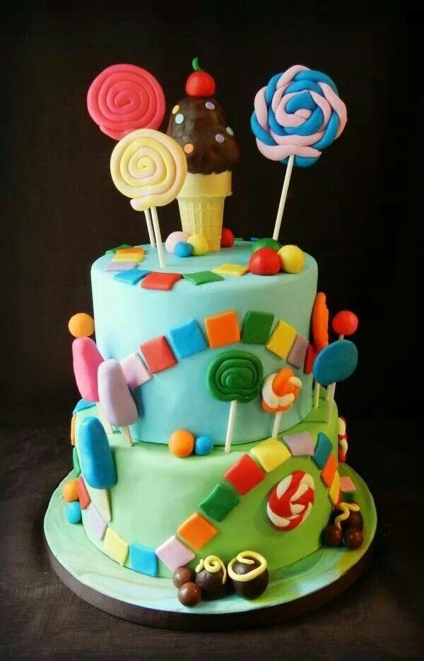 Fun Birthday Cake Food Pinterest Fun Birthday Cakes Cake