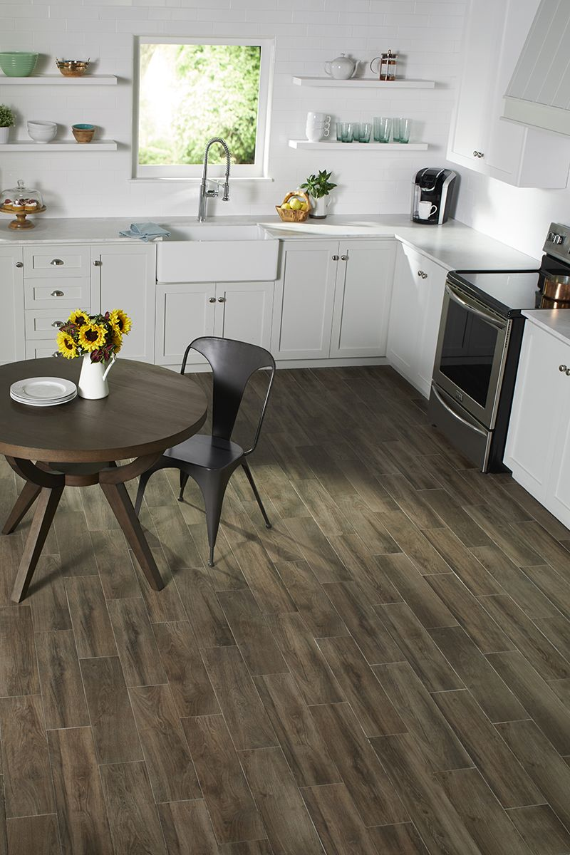 Photo Features Evermore Porcelain Tile By Daltile In