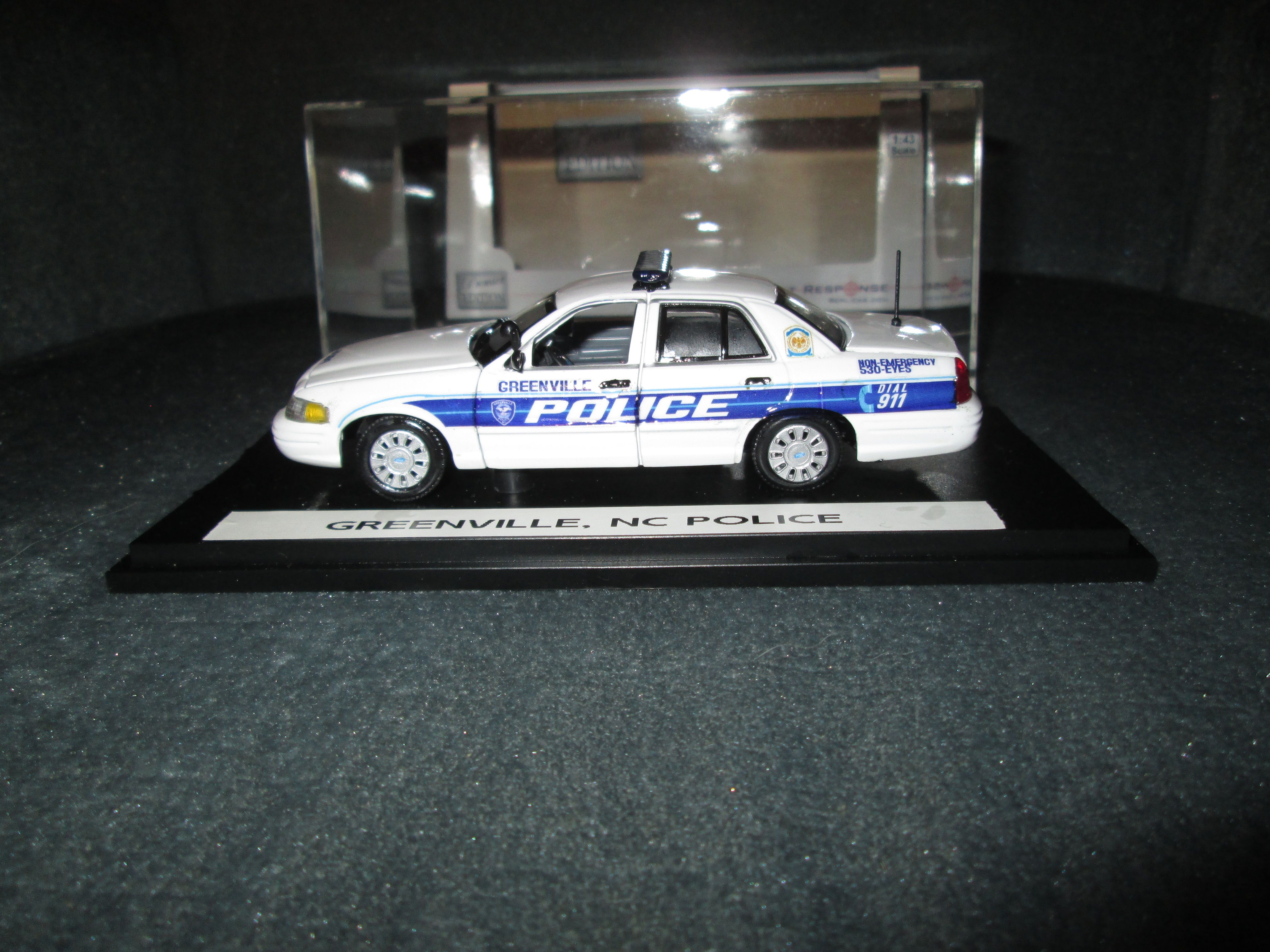1 43 Scale Greenville Nc Police Ford Crown Vic Police Diecast