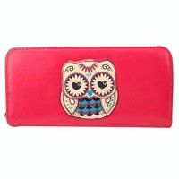 Valentine's day gifts,Gifts for Women!!!-easygogo®Womens Owl Print Bifold Long Zip Around Clutch Wallet Best Friends Gifts for Women Christmas Gifts Ideas (Rose)   Computer screens have chromatic aberration, especially between CRT screen and LCD screen, we can not guarantee that the color of our products will Read  more http://themarketplacespot.com/electronic/valentines-day-giftsgifts-for-women-easygogowomens-owl-print-bifold-long-zip-around-clutch-wallet-best-friends-gifts