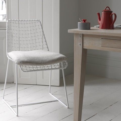 Pair Of White Geronimo Chairs