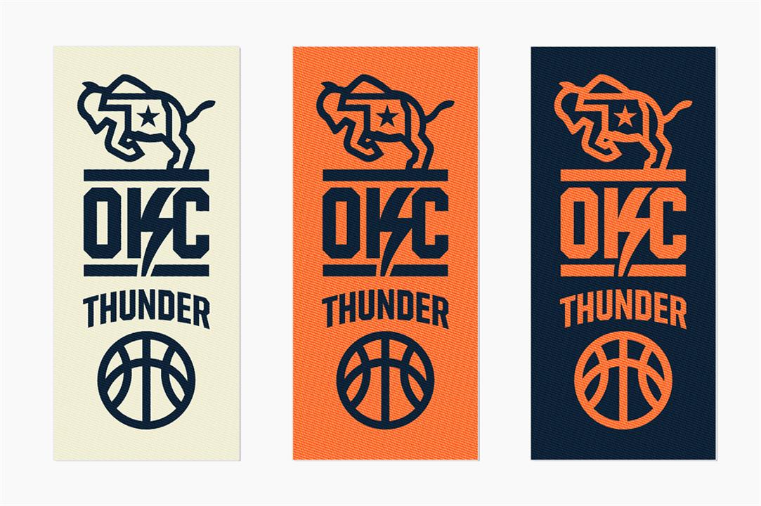 Designer Proposes Revamped Thunder Logo Uniforms News9 Com Oklahoma City Ok News Weather Video Sports Logo Design Oklahoma Logo Oklahoma City Thunder
