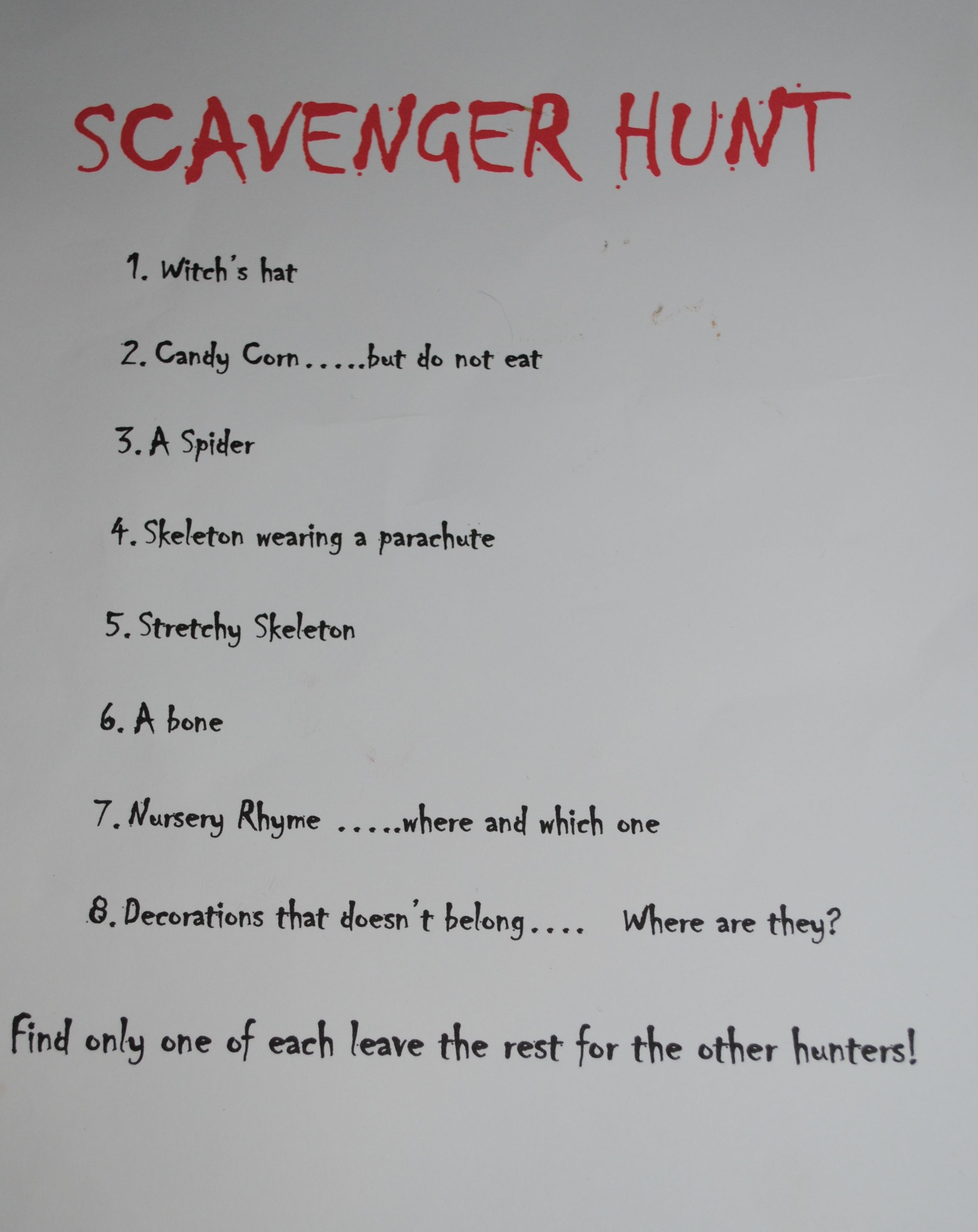 Luscious image inside family reunion scavenger hunt printable