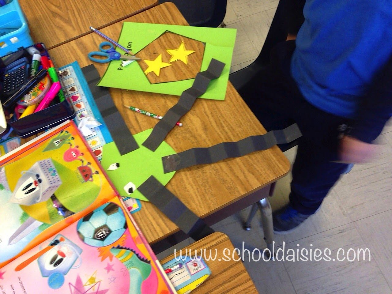 greedy triangle writing activity for thanksgiving