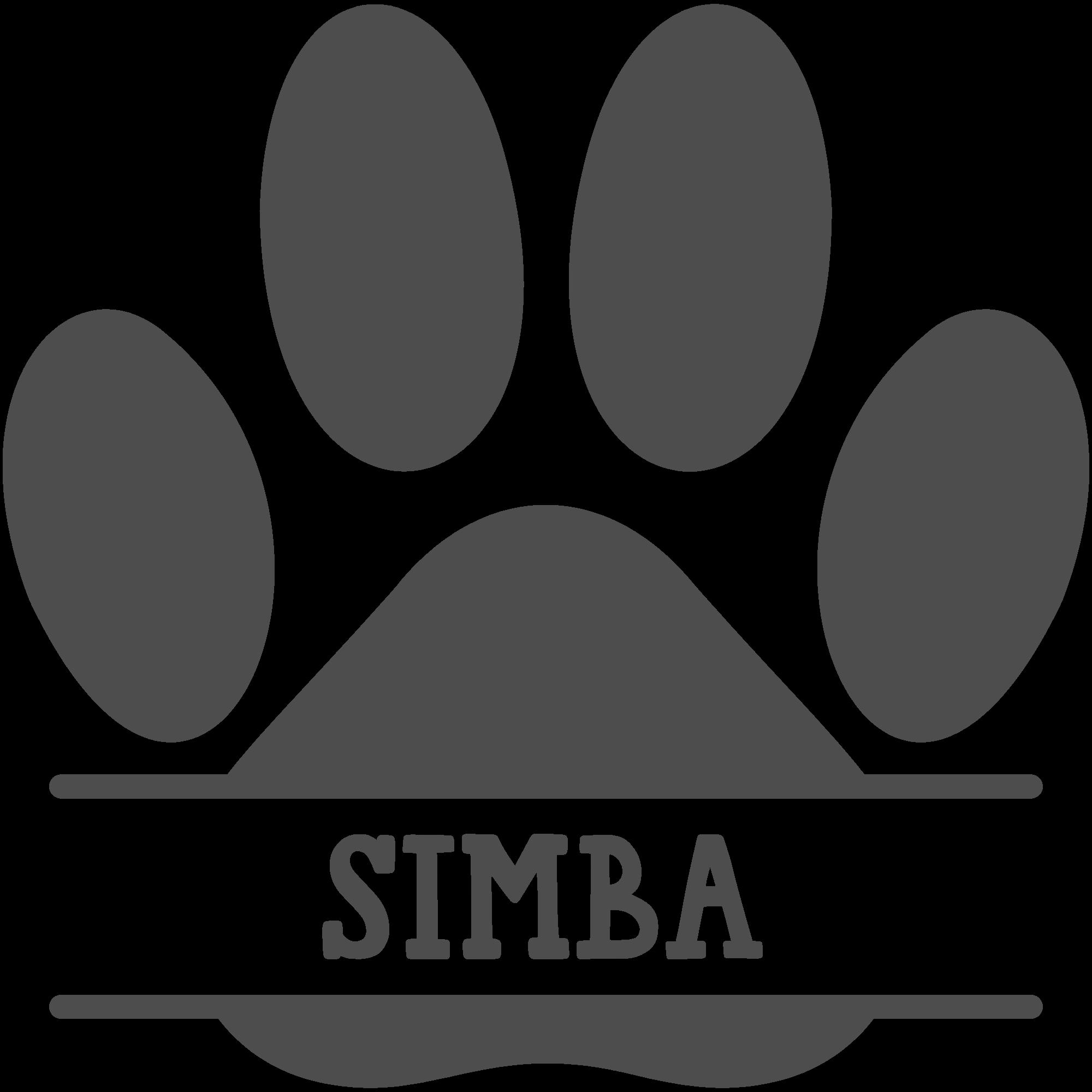 Free Svg Free Cat Paw Frame Svg Eps Dxf Files Free Monogram Free Svg Free Cats