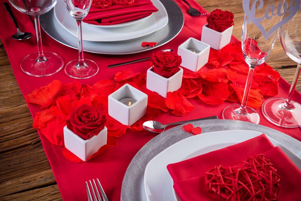 Una Cena Romantica En Casa