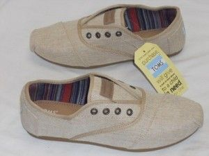 New Toms Womens Cordones 300412 Burlap Paxton Slip On Lace Up