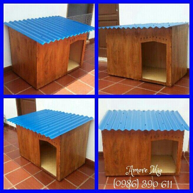 Resultado de imagen para casas para perros grandes de - Hacer caseta de madera ...