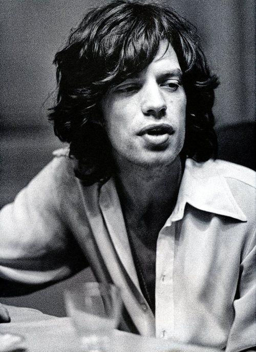 Mick Jagger at Villa Nellcote, circa 1971.