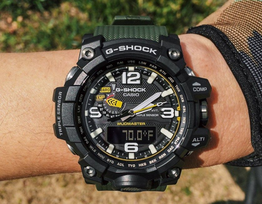 Watch Mudmaster 1a3 Shock Gwg Review G Wrist Casio Time 1000 PX8NOn0wkZ