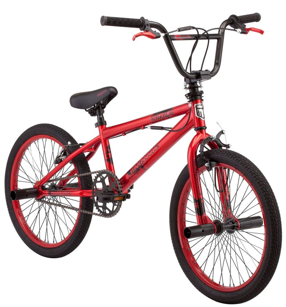 Mongoose Bmx Freestyle Bike 20 Inch Red Racing Stunt Pegs Genuine Mongoose New 38675123175 Ebay Bmx Bikes Bike Freestyle Bmx