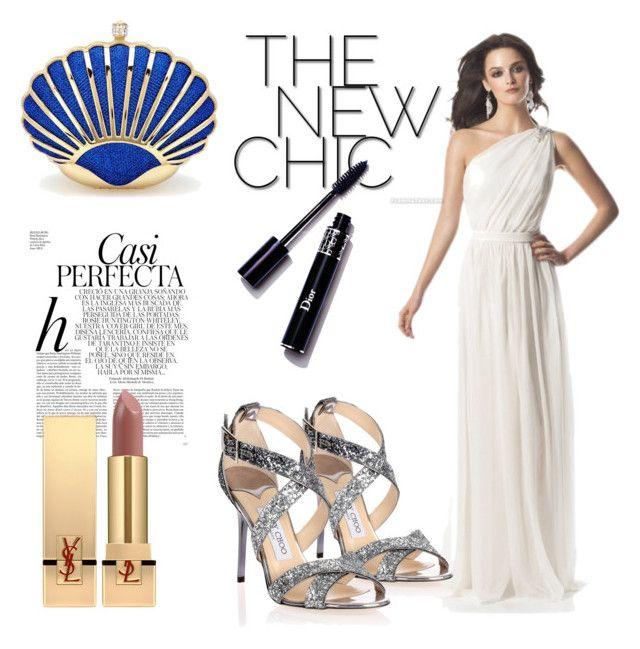 Bodenlang Reißverschluss Weiße einfacher Abendkleid by johnnymuller ...