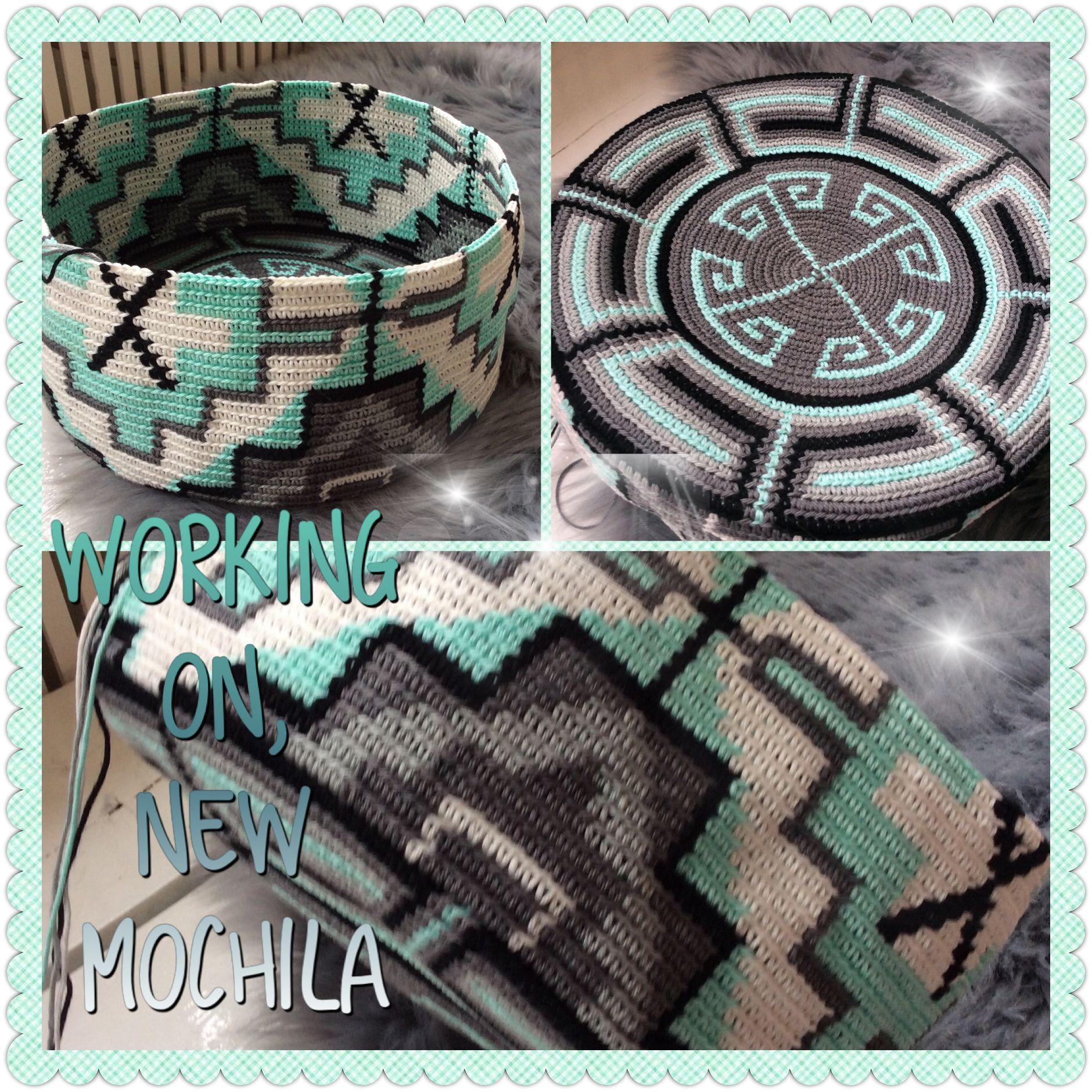 Wayuu Mochila bag | Torby | Pinterest | Mochilas, Mochilas wayuu y ...
