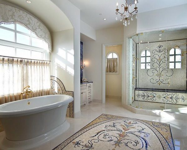 Luxurious Bathroom with Beauty Marbles Tiles Design Get Latest Designs &  Decor Ideas for your Home