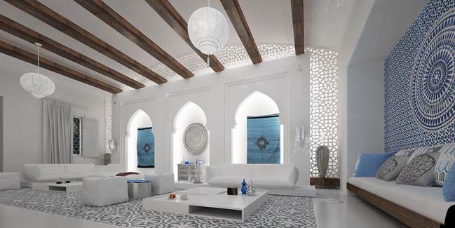 modern arabic interior style | modern, interiors and living rooms