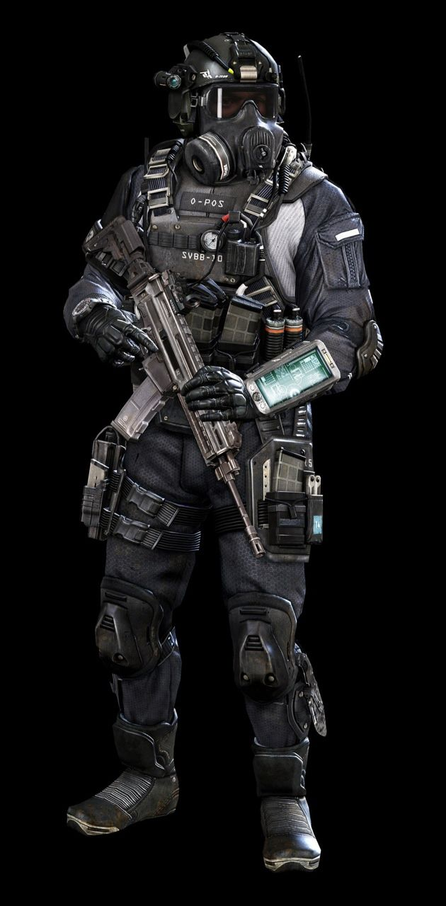 Call of Duty Ghosts | Jake L Rowell - Artist | Operators | Pinterest