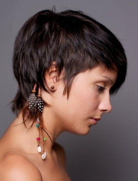 Awe Inspiring 1000 Images About Sassafras Hair On Pinterest For Women Very Short Hairstyles Gunalazisus