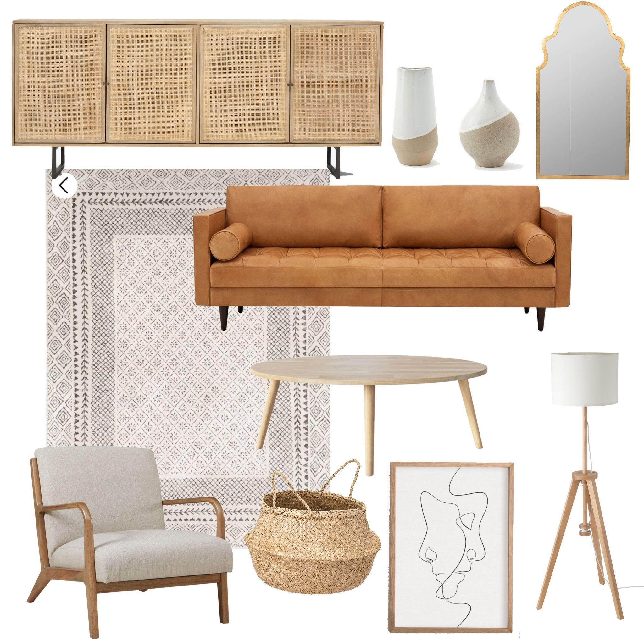 LIKEtoKNOW.it Neutral Modern Living Room