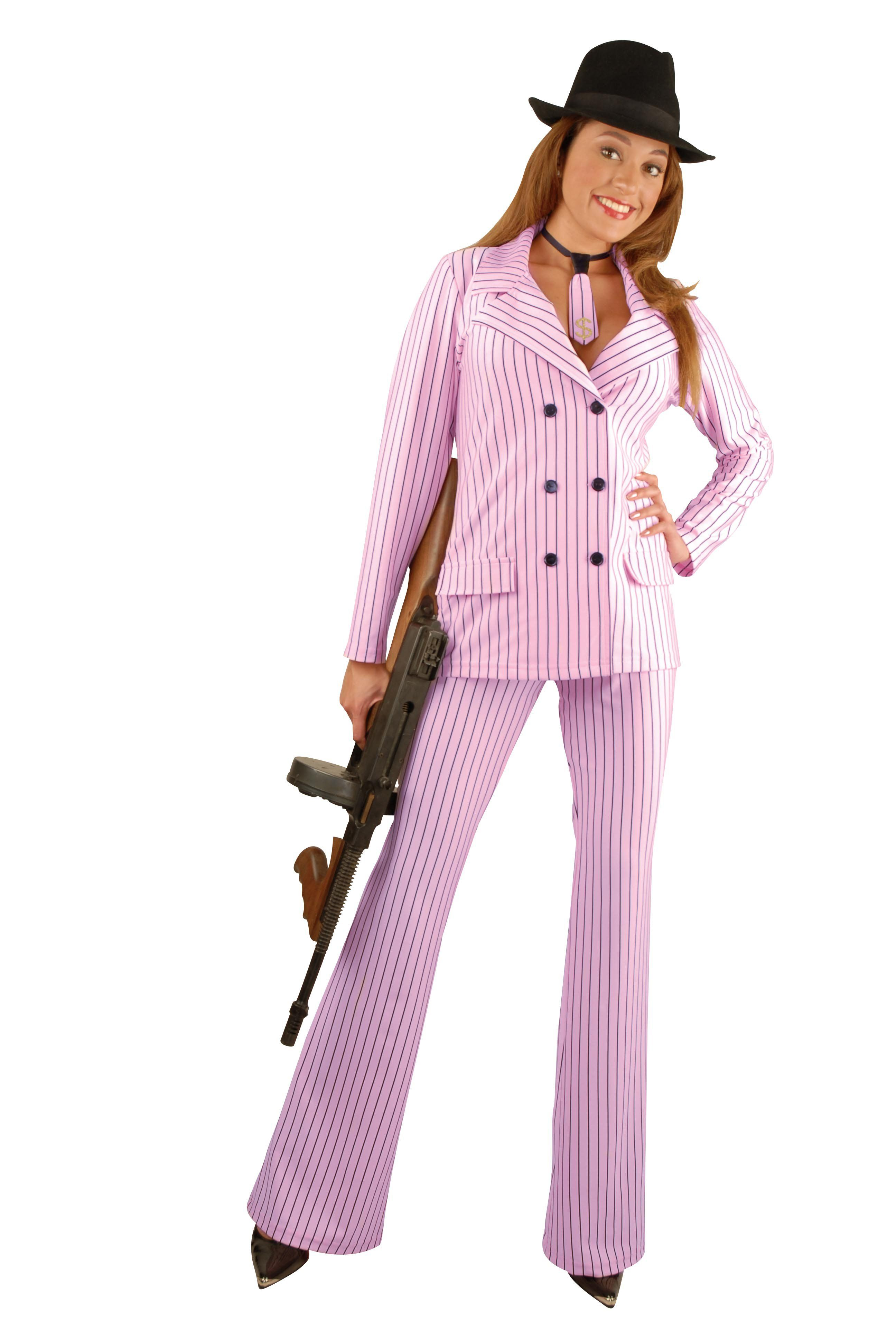 womens mob boss gangster costume - Female Gangster Halloween Costumes