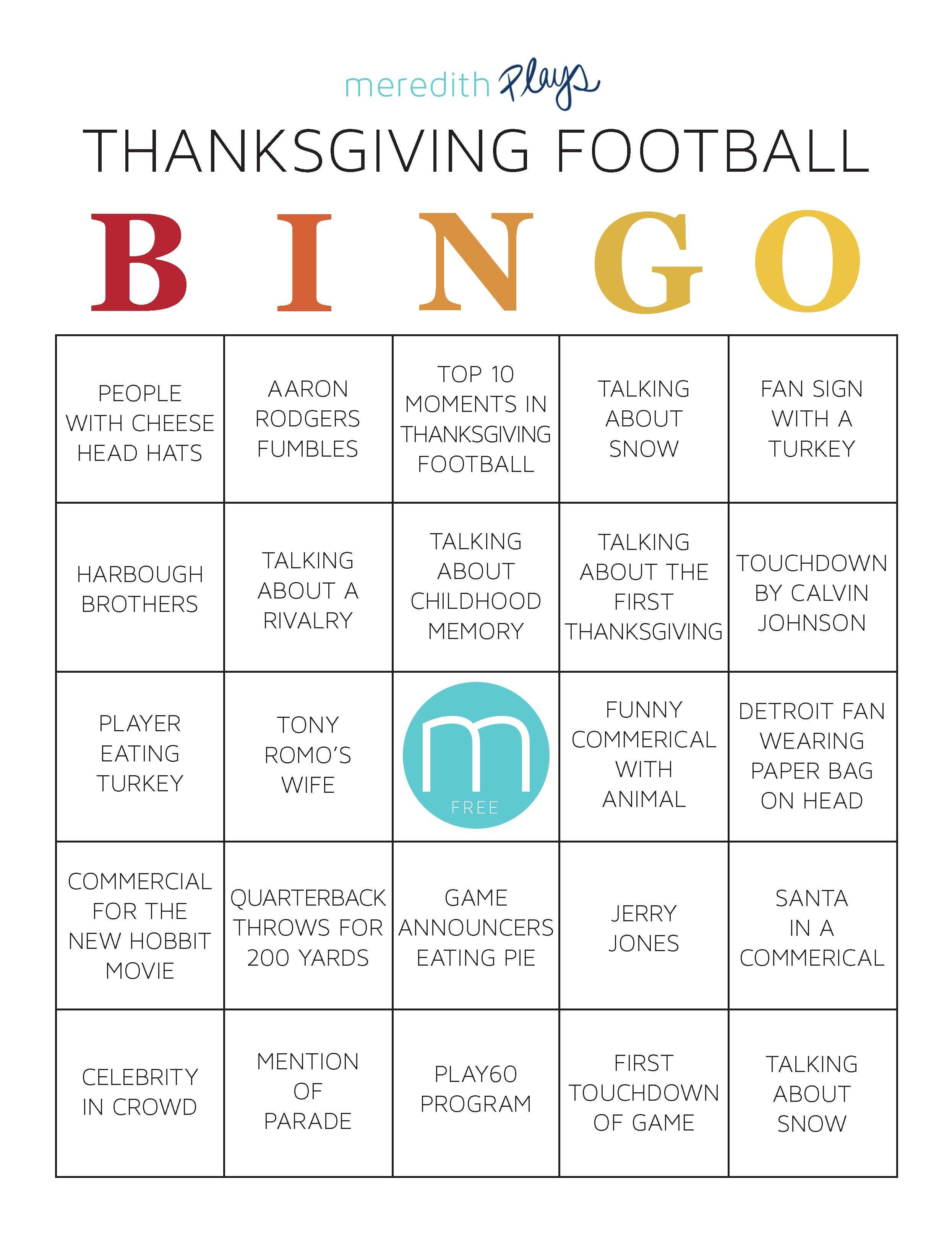 Print Out This Series Of Bingo Cards To Get Everyone Interacting During The Big Game On