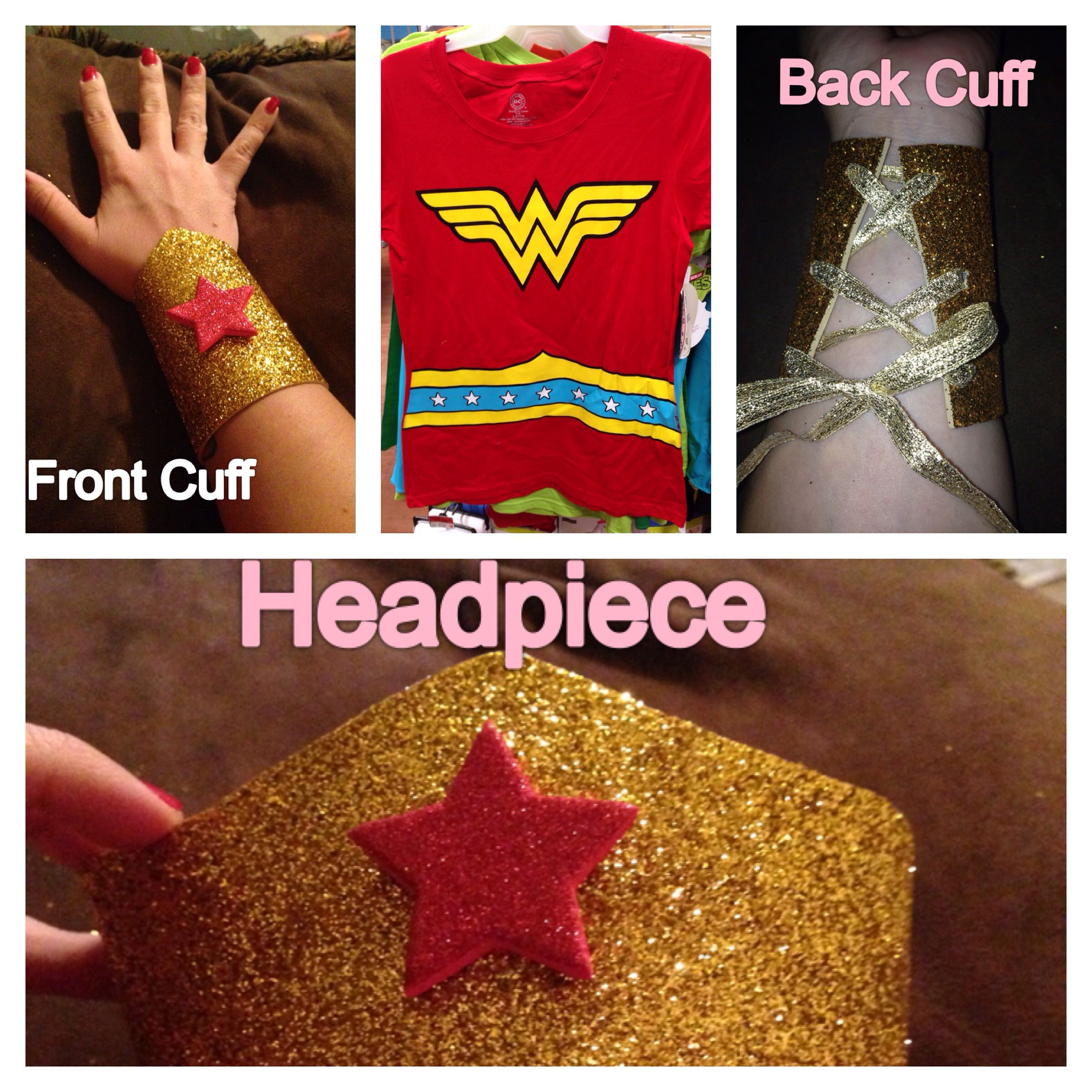 Easy Wonder Woman costume