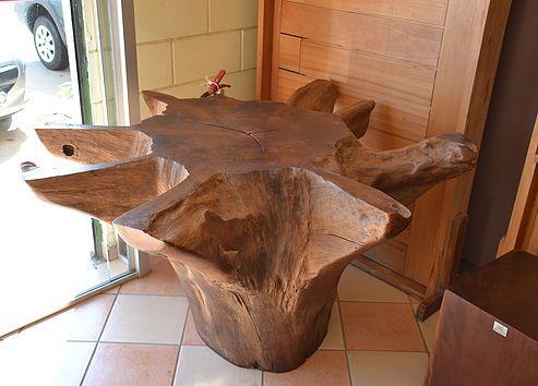 Pe de mesa de tronco de arvore pesquisa google madeira for Mesa tronco