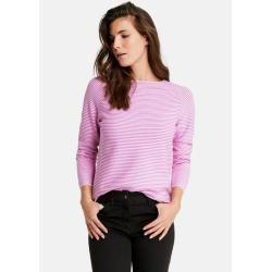 Photo of Fein geringelter Pullover Pink Gerry Weber