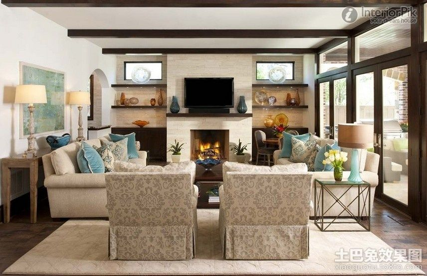 remarkable effect of american style living room idea picture listed in - American Living Room Design